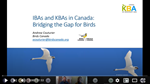 IBAs and KBAs in Canada: Bridging the Gap for Birds